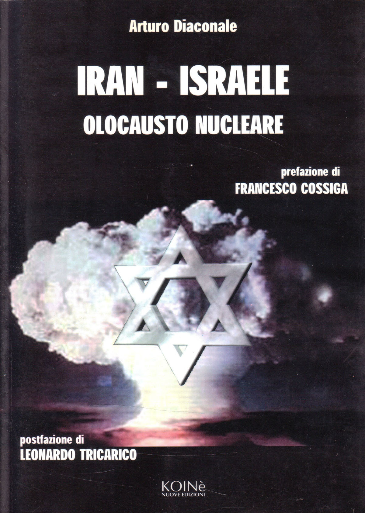 Book Cover: Iran-Israele e l'olocausto nucleare